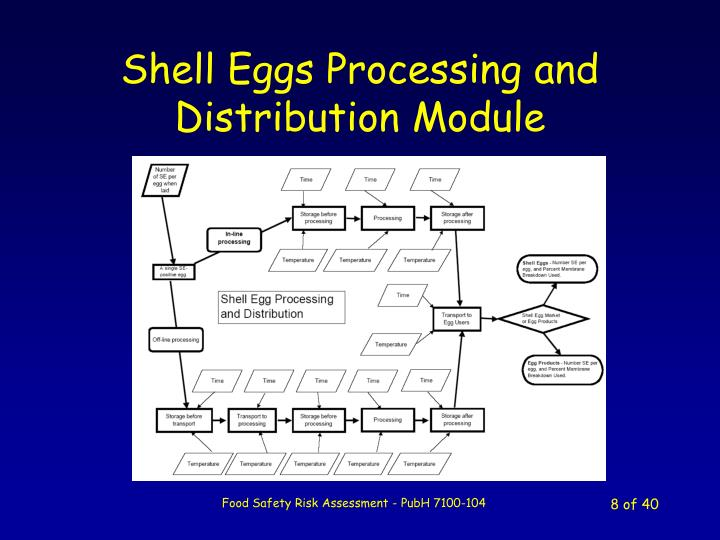 Shell Eggs Processing and Distribution Module