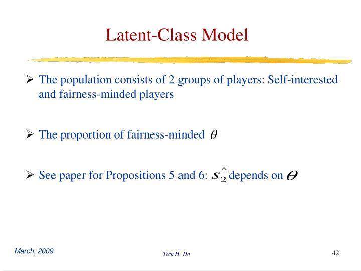 Latent-Class Model