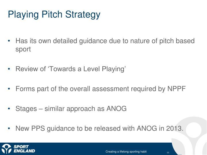 Playing Pitch Strategy