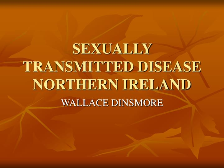 sexually transmitted disease northern ireland