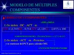 modelo de m ltiples componentes2