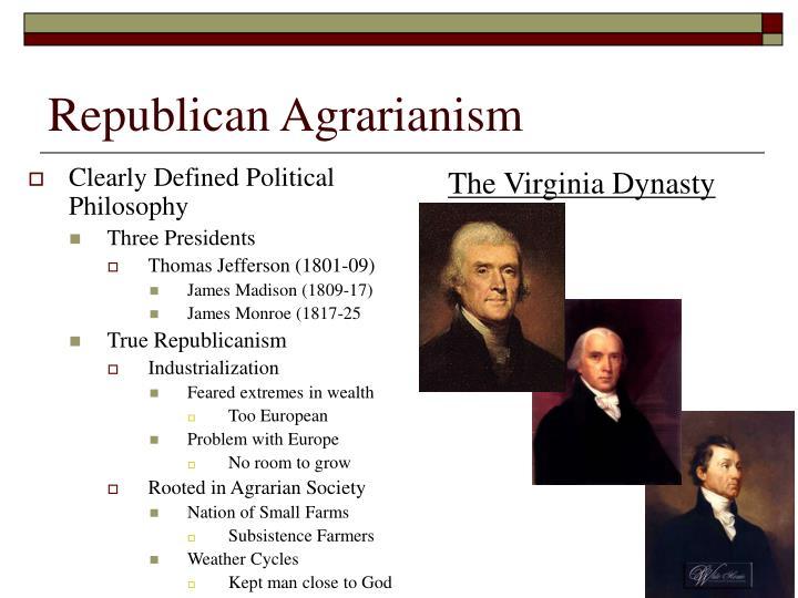 Republican Agrarianism