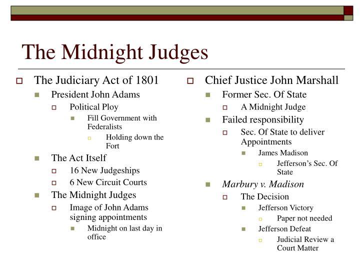 The Midnight Judges