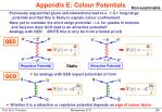 appendix e colour potentials