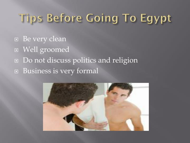 Tips Before Going To Egypt