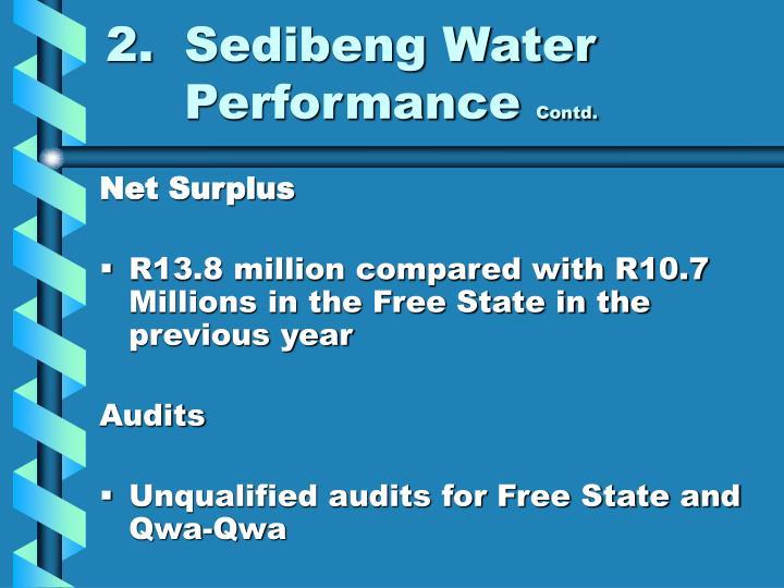 2.Sedibeng Water