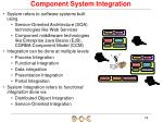 component system integration