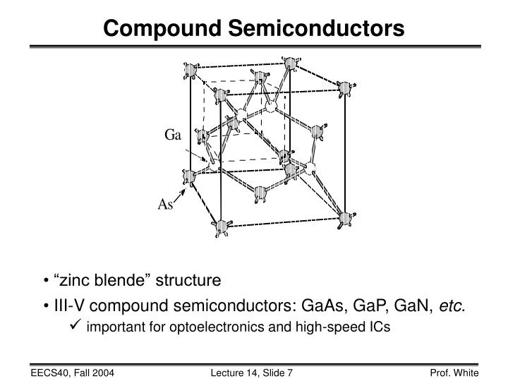 Compound Semiconductors