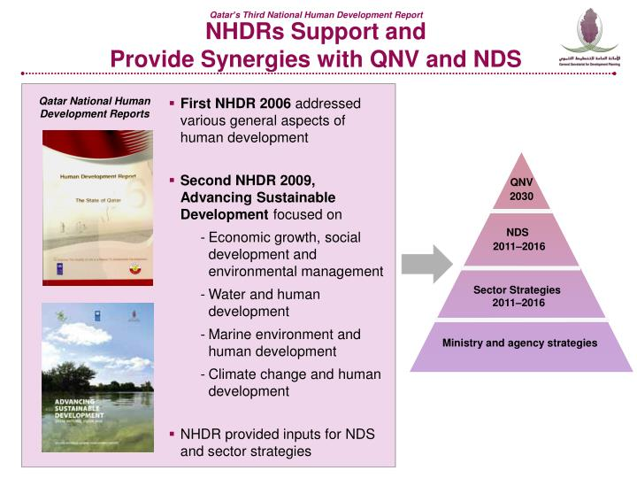Nhdrs support and provide synergies with qnv and nds