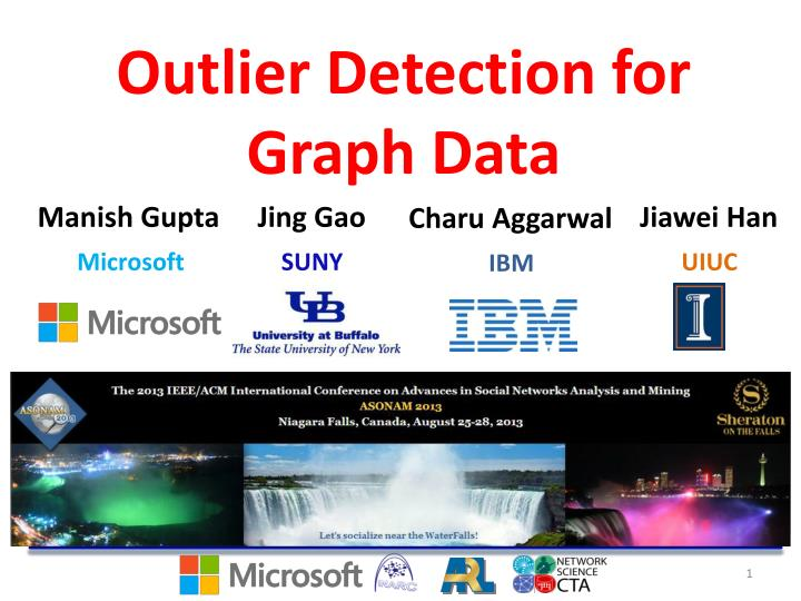 outlier detection for graph data n.