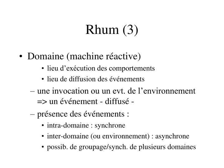 Rhum (3)