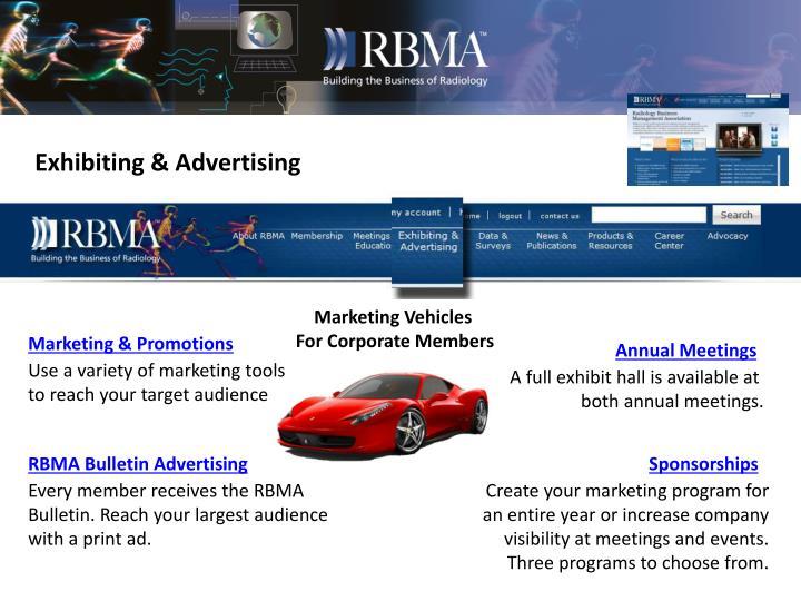 Exhibiting & Advertising