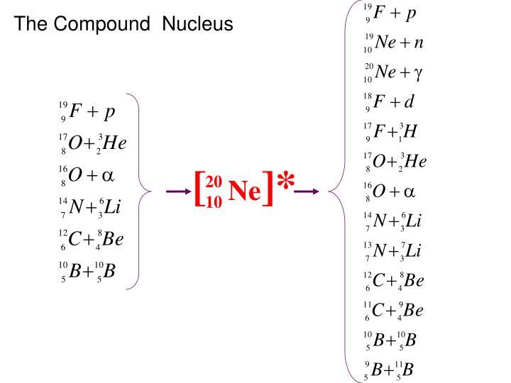 The Compound  Nucleus