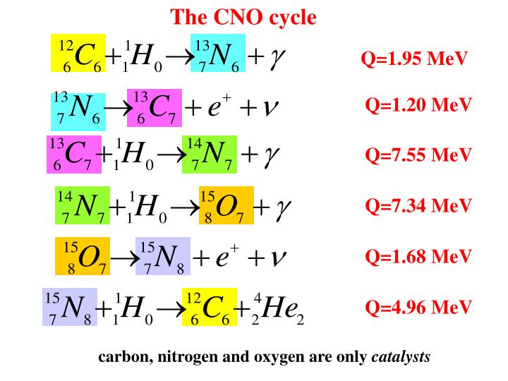 The CNO cycle