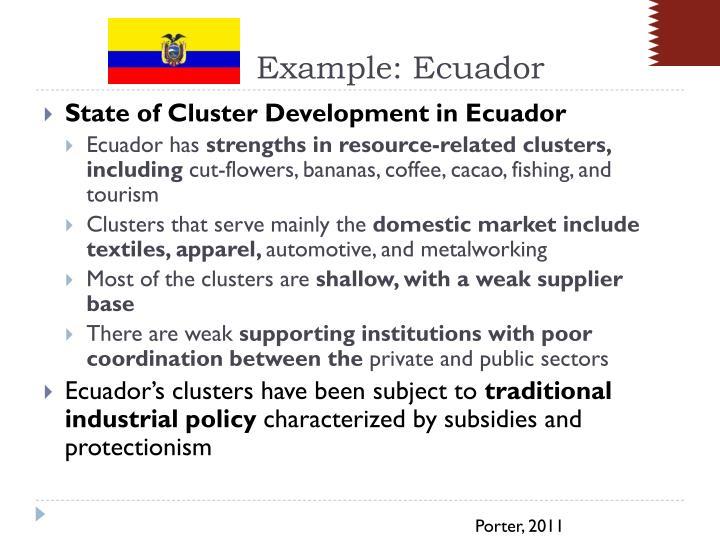 Example: Ecuador