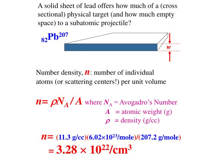 A solid sheet of lead offers how much of a (cross