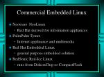 commercial embedded linux2