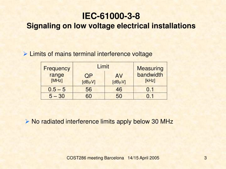 IEC-61000-3-8