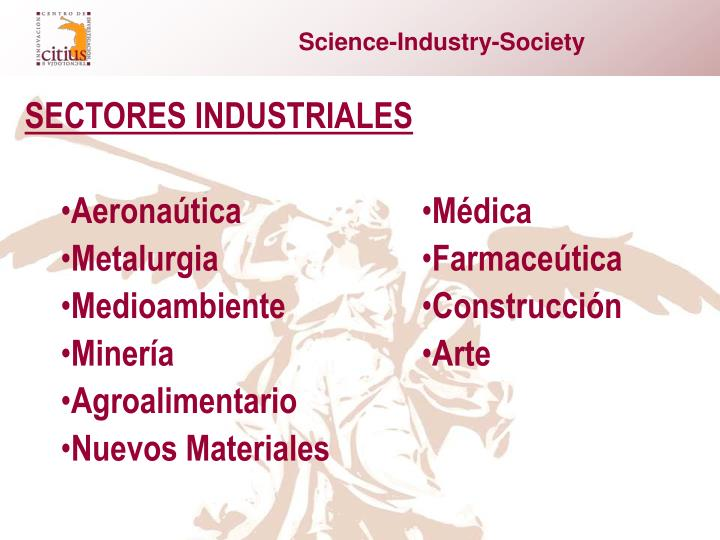 Science-Industry-Society