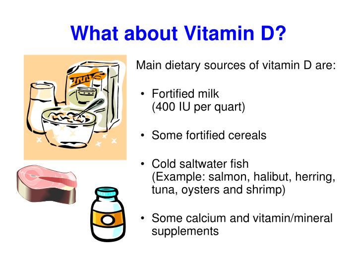 What about Vitamin D?