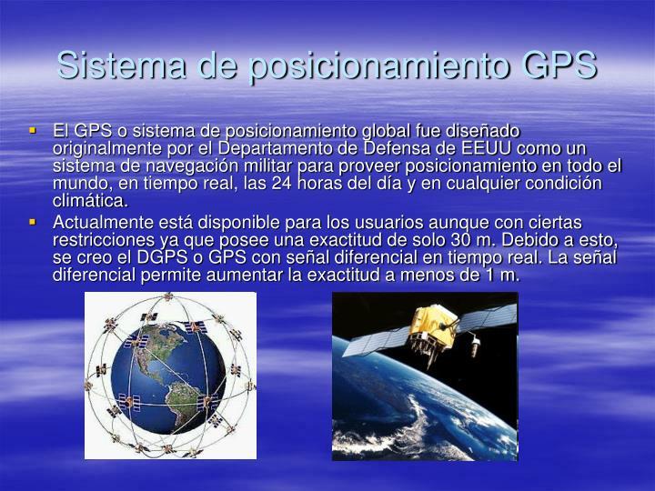 Sistema de posicionamiento gps