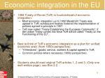 economic integration in the eu