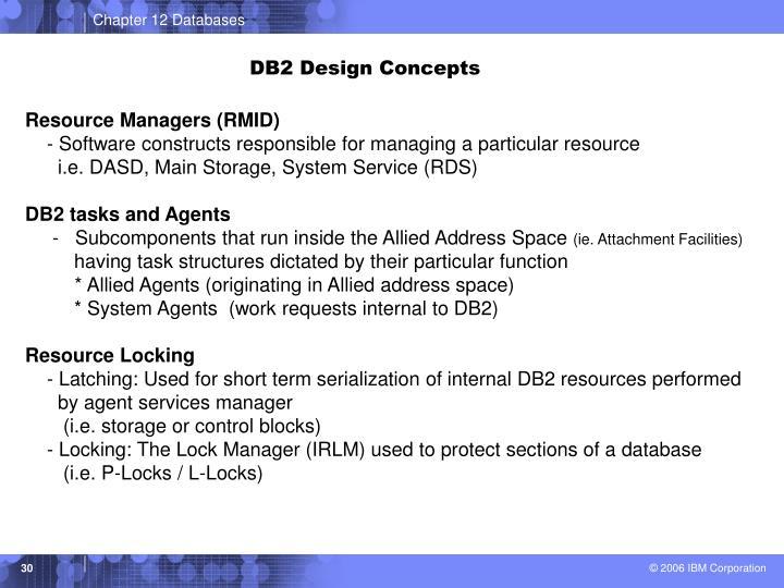 DB2 Design Concepts