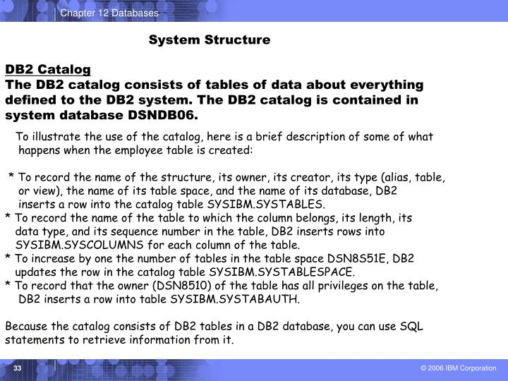 System Structure