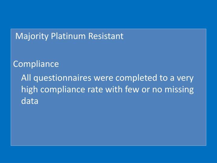 Majority Platinum Resistant