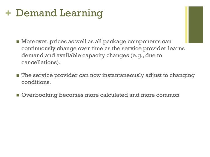 Demand Learning
