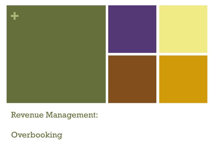 Revenue Management: