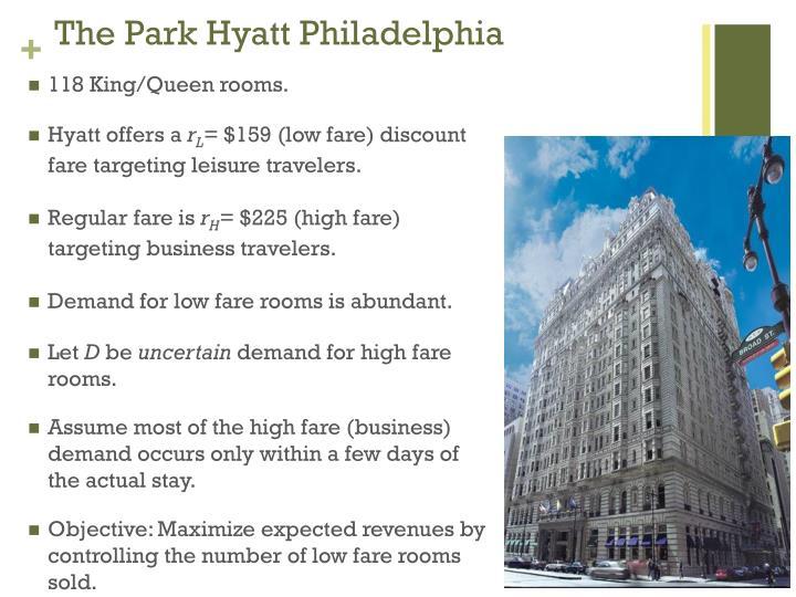 The Park Hyatt Philadelphia