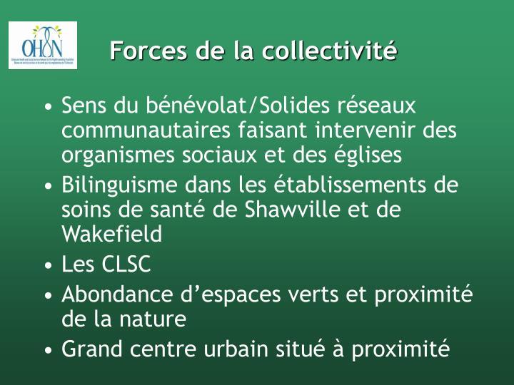 Forces de la collectivité