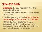 skim and scan1