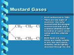 mustard gases