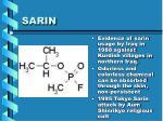 sarin