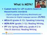 what is mepa