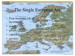 the single european act