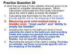 practice question 201