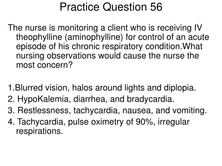 Practice Question 56
