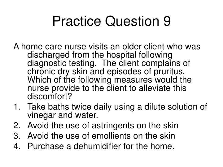 Practice Question 9