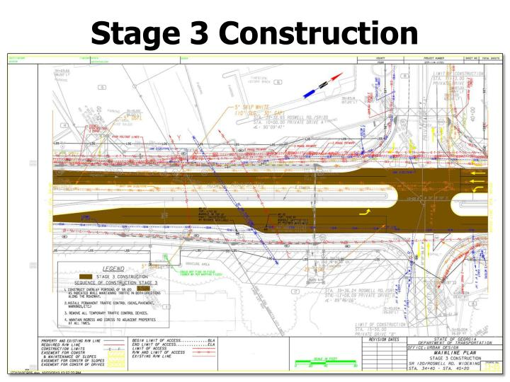 Stage 3 Construction