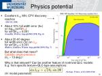 physics potential