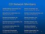 cd network members