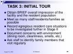 task 3 initial tour