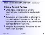 task 4 census sample review continued10