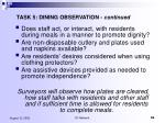 task 5 dining observation continued8