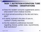 task 7 nutrition hydration tube feeding observations4