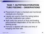 task 7 nutrition hydration tube feeding observations6