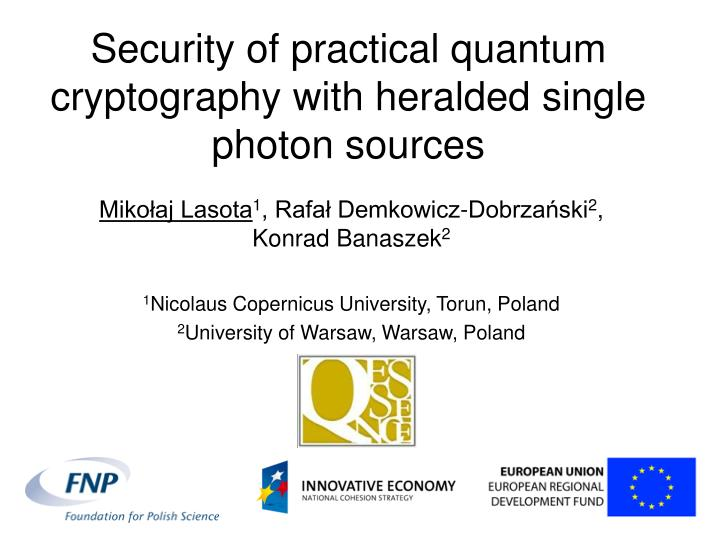 Security of practical quantum cryptography with heralded single photon sources